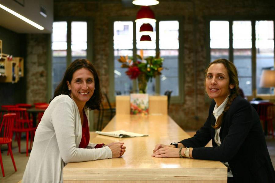 Elena Díaz Morera y Irina Costafreda, socias fundadoras de OBBIO.